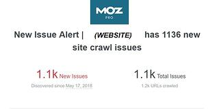Example Webmaster Monitoring Catches Website Crawl Errors